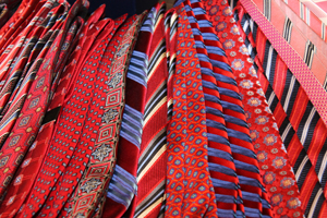 accessories ties red